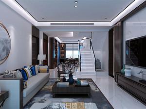 灝園-265平米復式-新中式風格大宅設計案例賞析