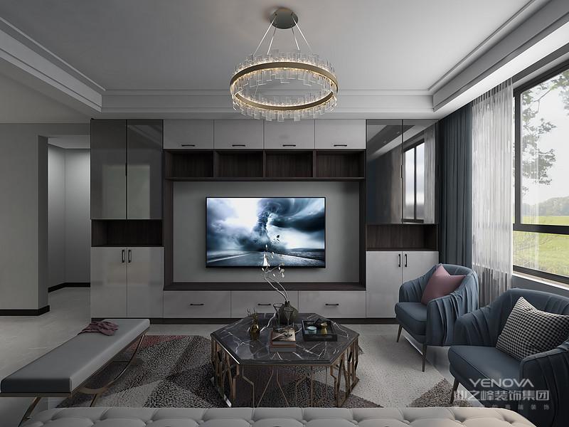 在选材上不再局限于石材、木材、面砖等天然材料,而是将选择范围扩大到金属、涂料、玻璃、塑料以及合成材料,并且夸张材料之间的结构关系,甚至将空调管道、结构构件都暴露出来,力求表现出一种完全区别于传统风格的高度技术的室内空间气氛。