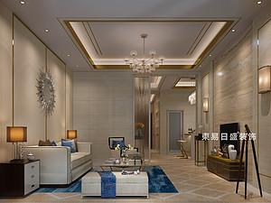 桂林冠城?青秀庭院別墅550㎡現代簡約裝修風格