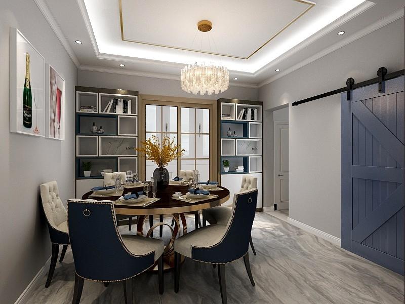 整面的木饰面上墙,增加室内的舒适度,尤其在有阳光登堂入室时,视觉上也是一种享受,除了主卧,省下的2个客卧门也隐形其中。