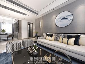 金泰華府-別墅400平米-新中式風格案例
