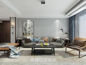 贵和天玺-150平米三居室-现代风格案例