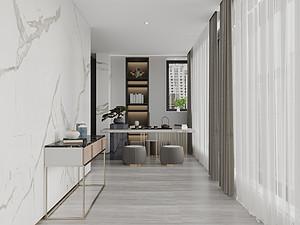 现代极简风格风格休闲室装修效果图