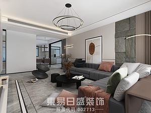 滨河阳光 165㎡ 黑白灰打造的时尚现代都市之家
