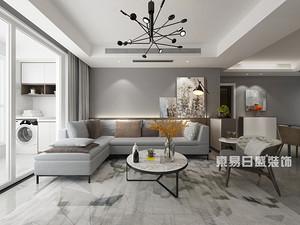 林莊御園-三居室114平米-現代簡約風格案例賞析