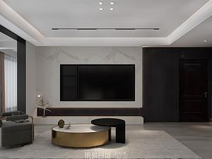 奧正誠園北區-170平米三居室-現代簡約風格案例