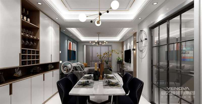 作为家居装饰风的一种流行,现在许多8090后对它很是倾心,与现代风格相比,它舍弃了现代主义苍白的一成不变