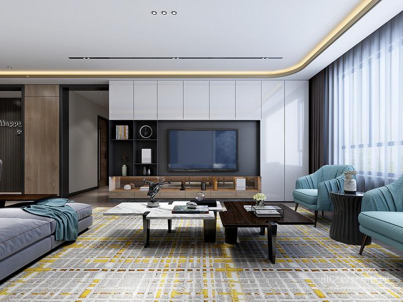 简约风格的软装比其他装饰风格都简单,通过简单的线条和强烈的色彩对比来装饰。除软装外,硬装还将采用钢化玻璃、不锈钢等新型装饰材料,在增加家居实用性的同时,增添时尚感。