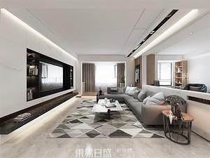 世紀新筑-200平米復式-現代簡約風格案例賞析
