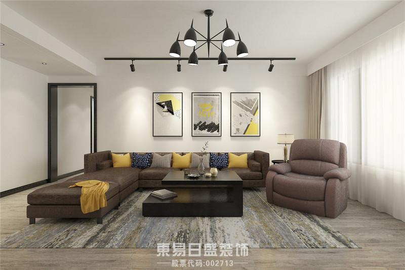 临沂装修设计-国华新经典-客厅