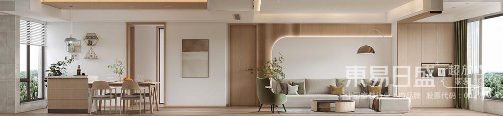 素雅清净的颜色能让人的内心感到平和,素雅却不失单调,这份简洁变成了质感,成为构造空间高级感的条件之一。