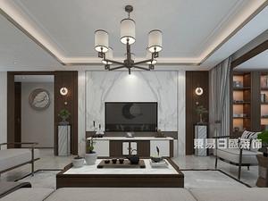 奥德海棠-三居室155平米-新中式风格赏析