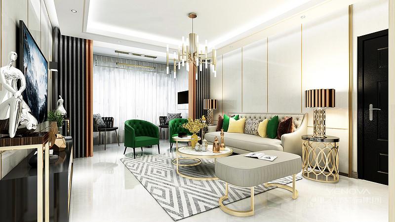 它们简约、时髦且富有轻奢气质,运用在家居设计中,可以在呈现温馨大气的格调之余,又牵引出浓浓的时尚高雅范儿。