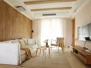 小日子就该过得简单又温暖,102㎡治愈系日式3室2厅
