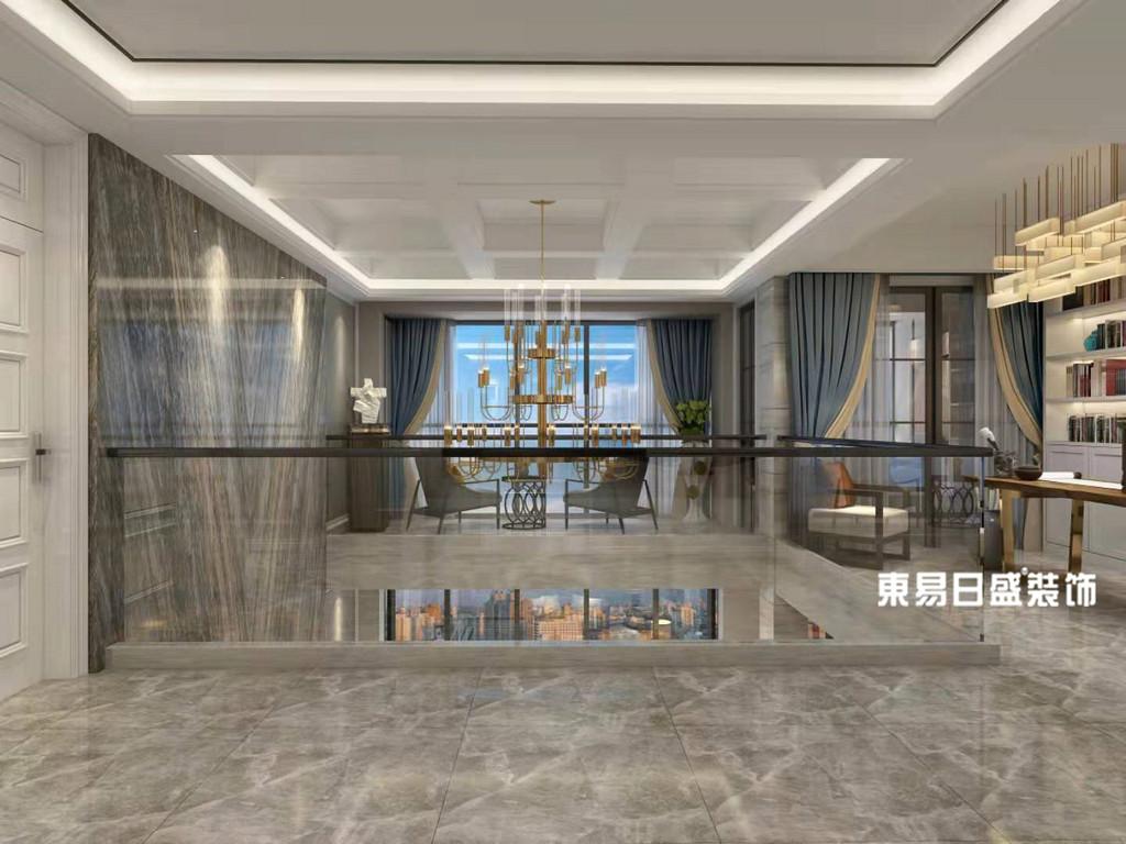 桂林市自建别墅500㎡现代简约风格:休闲区装修设计效果图