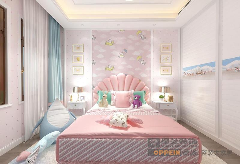 山和院子-新中式风格-2楼卧室