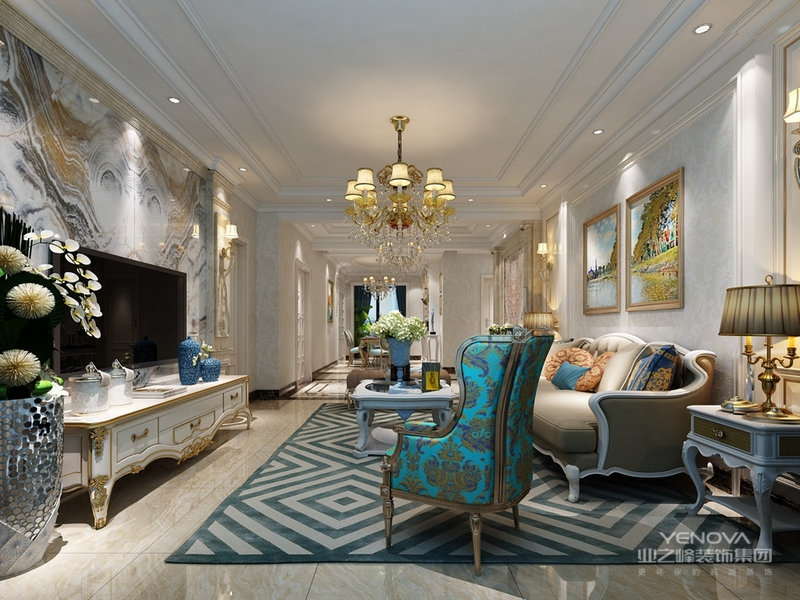 强调室内空间宽敞.内在通透,在空间平面设计中追求自由.墙面.地面.顶棚以及家具陈设乃至灯具器皿等均以简洁的造型., 更多地强调形式服务于功能.另外,室内设施现代化,从功能上保证使用的舒适度,并在这些基础上充分体现业主的个性。