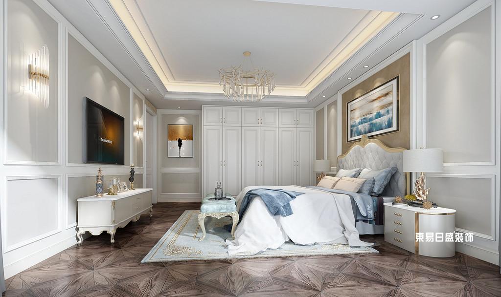桂林市自建别墅700㎡混搭风格:主卧室装修设计效果图