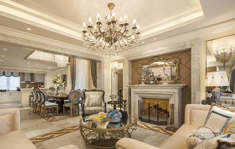 法式风格装修十分浪漫、华丽,突显出空间的奢华感与贵族气息,在这其中还具有安逸与舒适之感。法式装修设计风格具有浓烈的情感、独特的美学理念,通过繁复的设计展现华美的优雅之感。