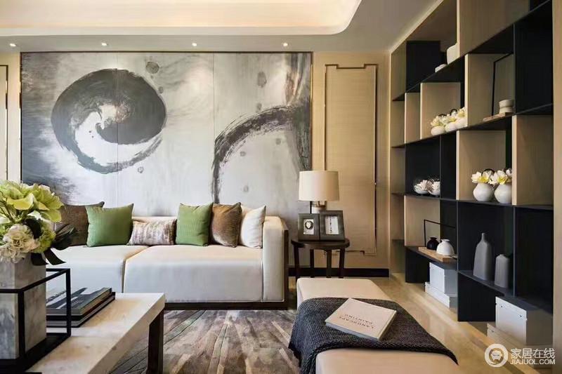 新中式设计静雅、低调、内敛、含蓄浓浓的中式味道。
