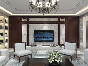 拉菲香榭四居室 180㎡ 现代风格