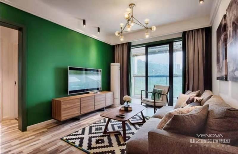 比如背景墙设计有些简约到只有一种颜色,但是它凝结着设计师的独具匠心,既美观又实用。