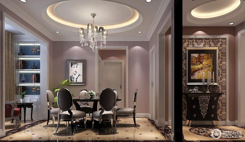 色彩的设计统一在室内装饰中起着改变或者创造某种格调的作用,会给人们带来某种视觉上的差异和艺术上的享受。