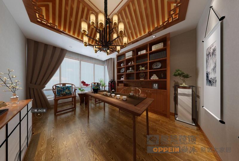 山和院子-新中式风格-3楼茶室