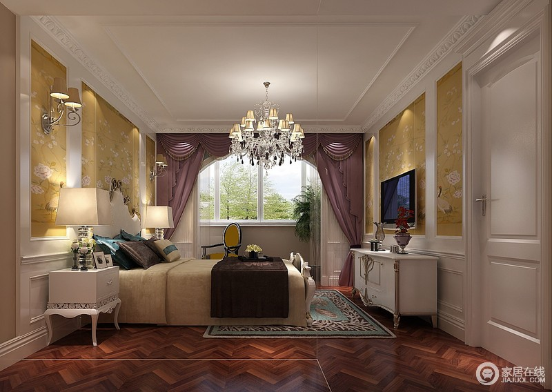 一种推崇优雅、高贵和浪漫的室内装饰风格,在自然中点缀,追求色彩和内在的联系。法式风格往往不求简单的协调,而是崇尚冲突之美。