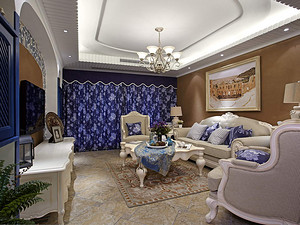 卢浮公馆-150m²-地中海