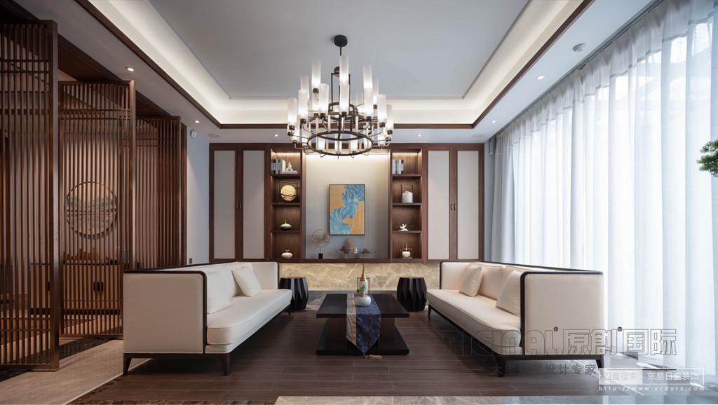 新中式,原木色带着天然的肌理,沉淀着古朴的气韵与方雅的姿态,在简洁的居室中添加一两把原木色新中式座椅(如圈椅、玫瑰椅、官帽椅、太师椅等)或其余家居装饰,整个空间都将荡涤着这种诱人的美,偶尔加入一两抹悦动色彩的点缀,视感更佳。