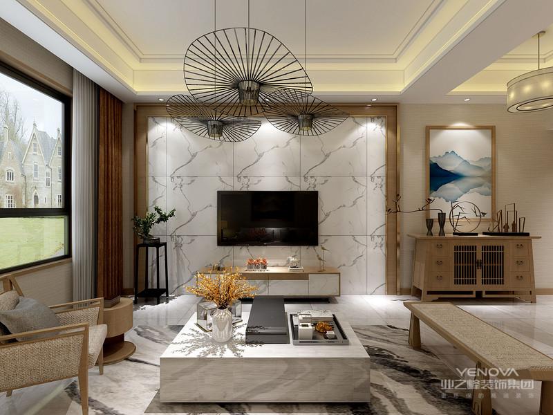 中国风并非完全意义上的复古明清,而是通过中式风格的特征,表达对清雅含蓄,端庄风华的东方式精神界的追求。