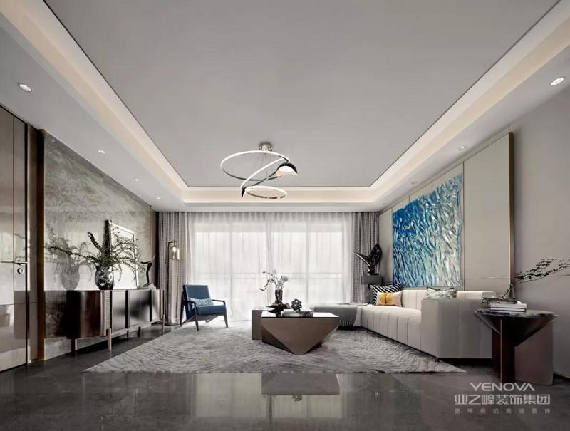 简洁的家具选型与细腻的面料肌理,精致的金属触感,调和出高品质的家居体验。