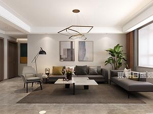 東方潤園48號樓,別墅400平,現代簡約風格