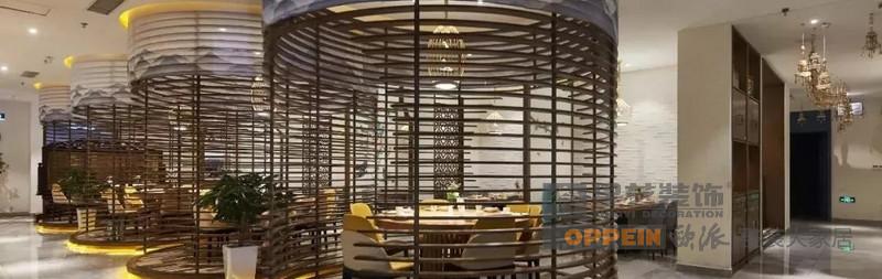 海棠餐厅-中式风格-公共用餐区