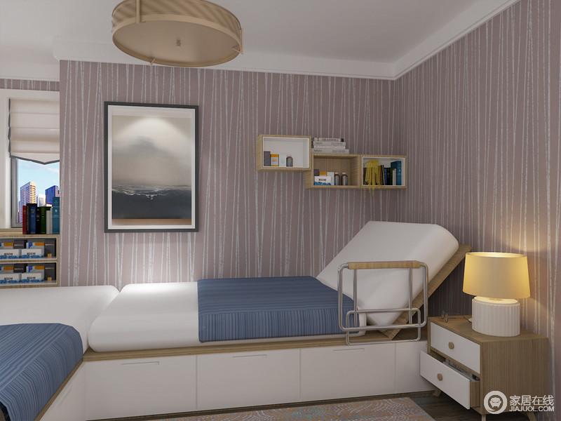 可以摇起的定制床对于陪护型老人最为实用。
