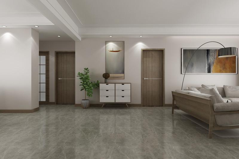 临沂装修灏园-三室两厅装修现代简约风格-入室玄关效果图