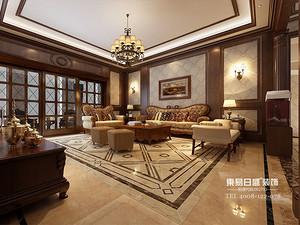 临沂装修别墅圣兰菲诺美式风格