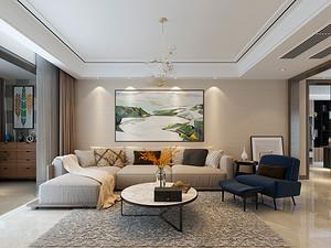 澜泊湾-160平米四室两厅装修-现代简约风格装修案例赏析