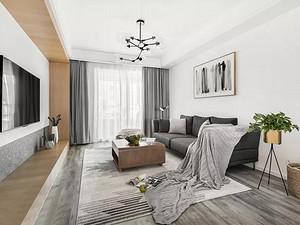 118㎡舒适北欧3室2厅,静享慵懒惬意的小时光