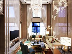 桂林安厦•漓江院子别墅1400㎡新中式装修风格