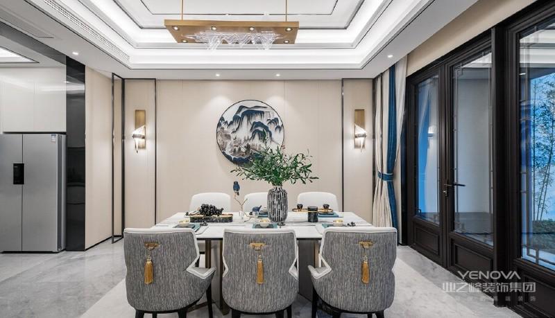 餐厅生活不缺柴米油盐,但是更愿意将它以一种更富美感的形态表现出来,从细节入手,将生活的点滴都沏入到设计中,让精致之中也不乏人间烟火。