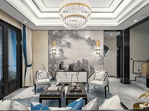 景岳公寓-145㎡-中式风格