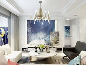 新晋优品二居室 110㎡ 现代简约风格