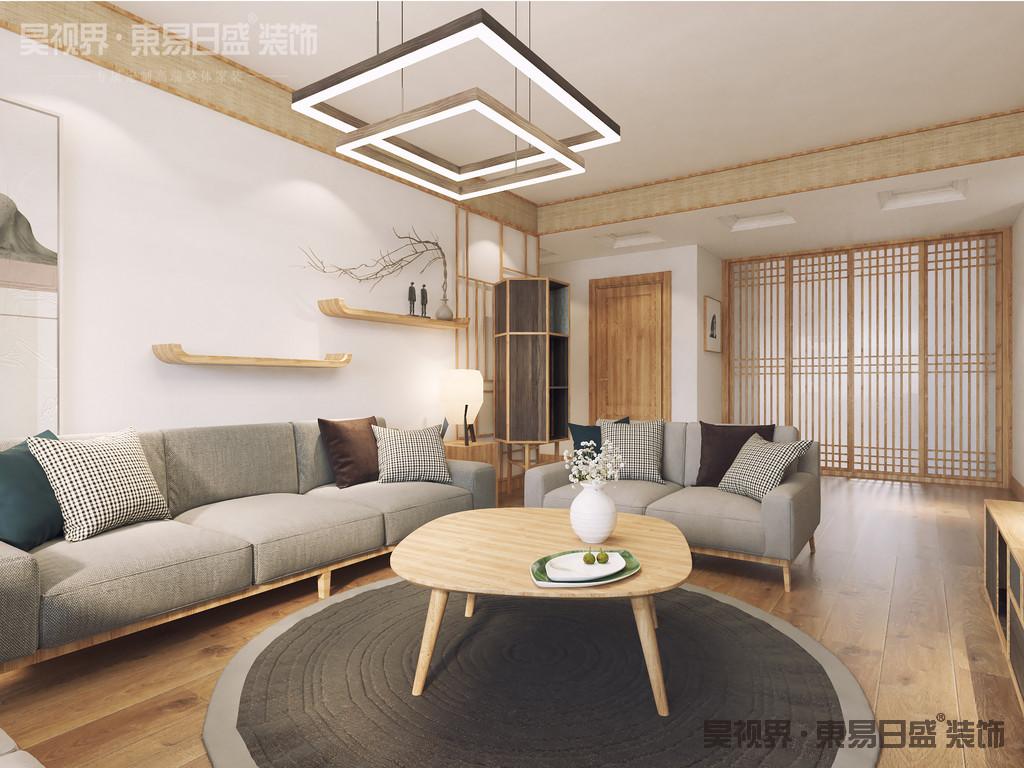 日式风格与简约风格相同之处在于:实用与简洁。这与日本这个国度地少人多颇有关系:让家居的每寸空间都得到有效利用。