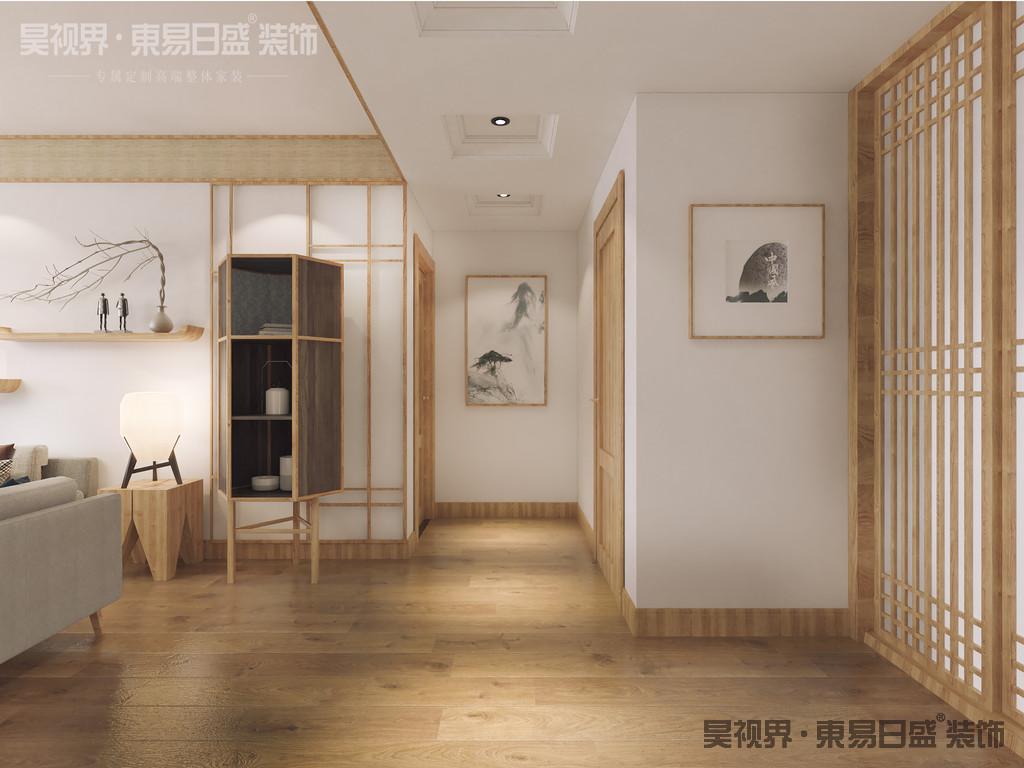 日式风格的整体色调以浅色系为主,比如素净的原木风家具、清爽的墙面,和谐而又充满了质朴感,都将日式风格体现的淋淋尽致。