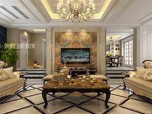 """欧式风格丨建业·联盟新城380m² —— """"一场设计重燃对生活的热爱"""""""