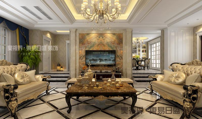 欧式造型,线条的设计也很有讲究,使整体空间具有更强烈的西方传统审美气息。门的造型设计,包括房间的门和各种柜门,既要突出凹凸感,又要有优美的弧线,两种造型相映成趣,风情万种。