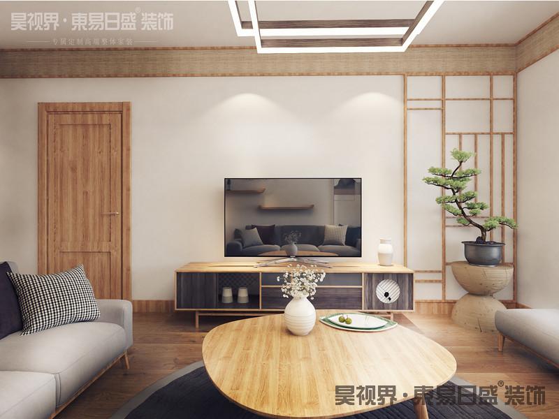 日式风格装修中,多以植物的原木色为主,突出自然元素,加深质朴和踏实的风格。