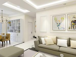 首开国风琅樾 三居室 132㎡ 新现代经典风格